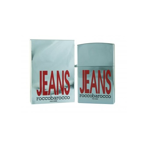 Roccobarocco Silver Jeans for Him 75ml EDP Spray