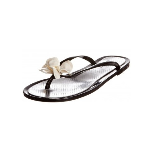Rubber Duck Women's Jelly Black Flip-flop