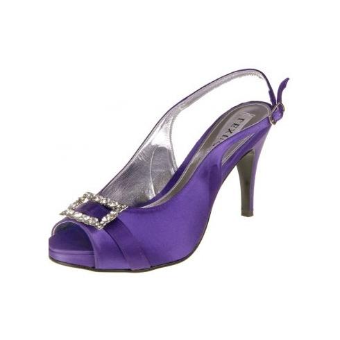 Lexus Sakuna Womens Open Peek Toe Shoes