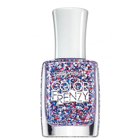 Sally Hansen Nail Polish - #340 Red, White & Hue