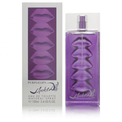 Salvador Dali Dali Purple Lips EDT 100ml Spray