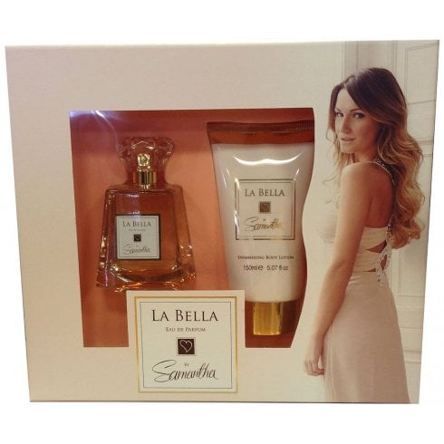 Samantha Faiers La Bella Gift Set 100ml EDP + 150ml Body Lotion