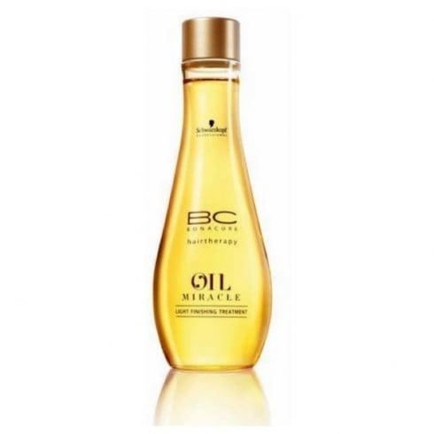 Schwarzkopf Bc Oil Miracle Light Finishing Treatment 100ml
