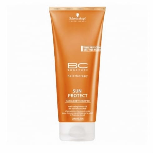 Schwarzkopf Bonacure Sun Protect Hair and Body Shampoo 200ml