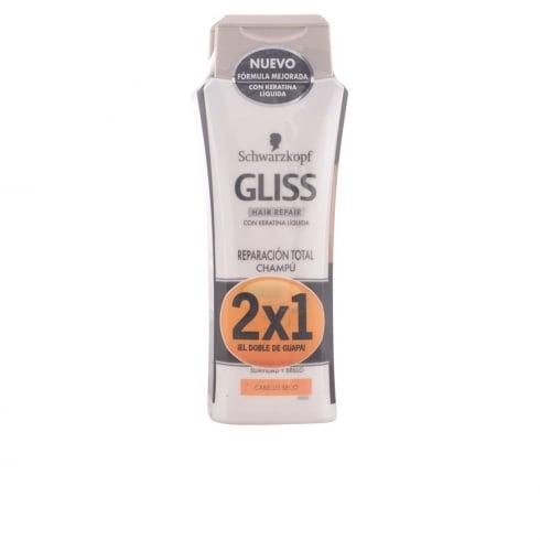 Schwarzkopf Gliss Total Repair Shampoo 2x250ml