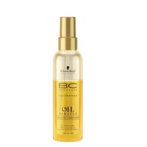 Schwarzkopf Professional Bc Oil Miracle Spray Conditioner 150ml