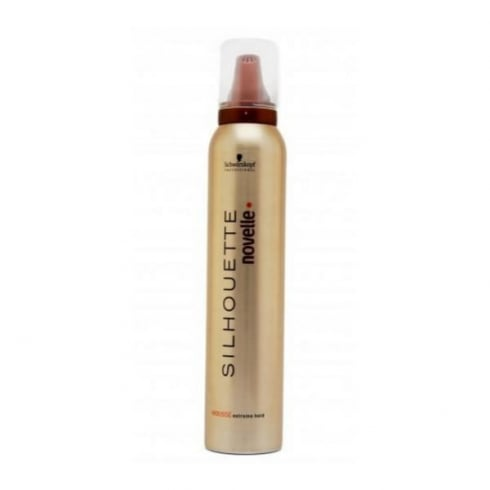Schwarzkopf Silhouette Novelle Extreme Hold Mousse 200ml