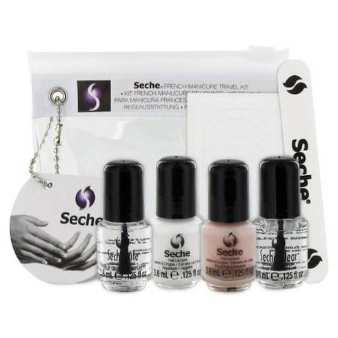 Seche FRENCH MANICURE TRAVEL KIT   INT'L - 4X 3.8ML