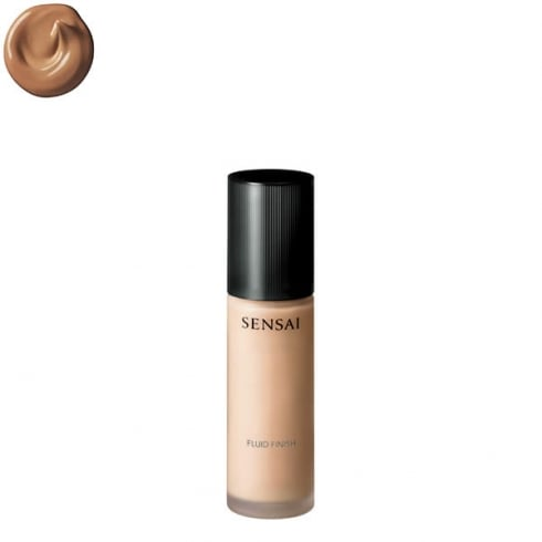 Sensai Kanebo Fluid Finish Foundation SPF15 204.5 Amber Beige 30ml