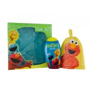 Sesame Street Gift Set 250ml Bath Gel + Bath Mitt