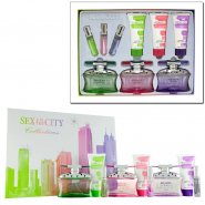 Sex in The City Gift Set 3x 100ml EDP + 3x 15ml EDP + 3x 100ml Body Lotion