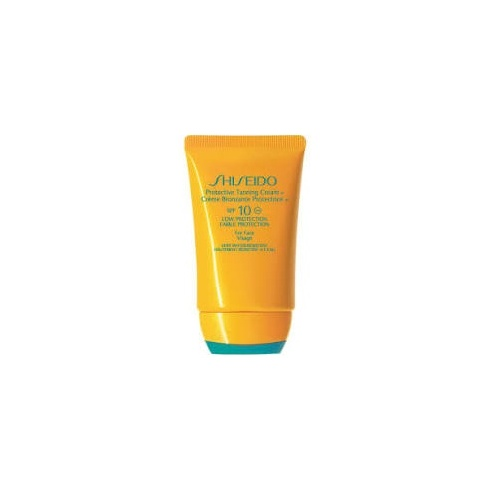 Shiseido Protective Tanning Cream SPF10 Low Protection Face 50ml