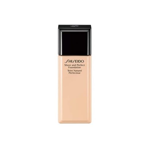 Shiseido Sheer and Perfect Foundation B100 Very Deep Beige