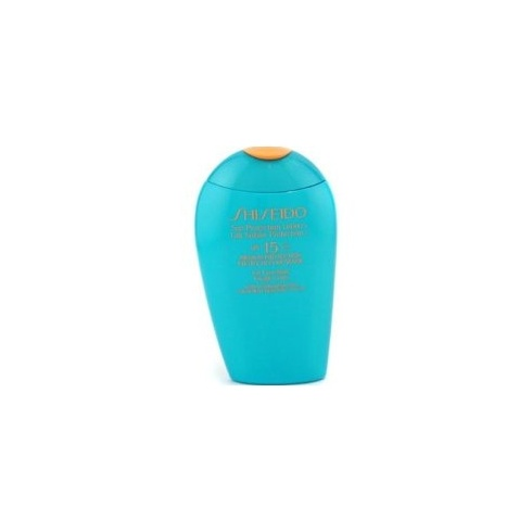 Shiseido Sun Protection Lotion SPF15 for Face/Body Very Water-Resistant 150ml