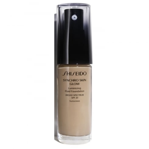 Shiseido Synchro Skin Glow Luminizing Fluid Foundation Neutral4
