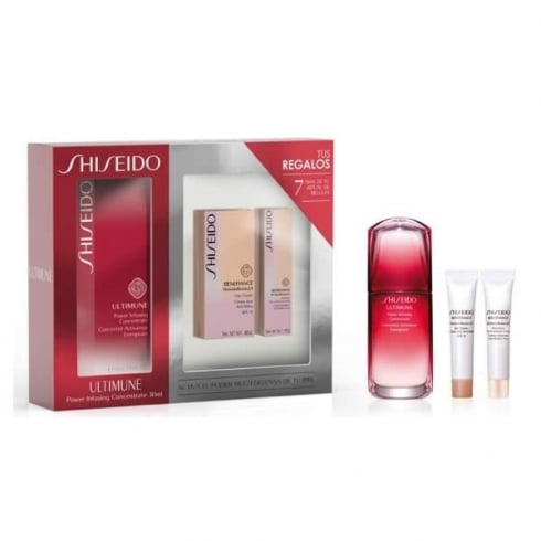 Shiseido Ultimune Power Infusing Concentrate 50ml Set 3 Pieces 2016