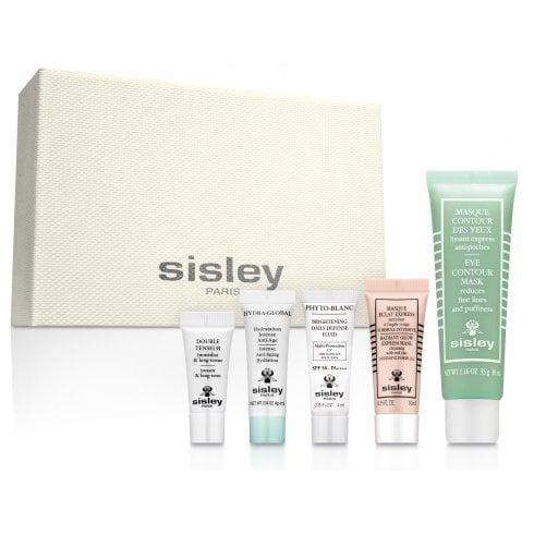 Sisley Set Emulsion Ecologique 60ml+Remover Makeup 100ml+Gel 10ml+Eye Contour 2ml