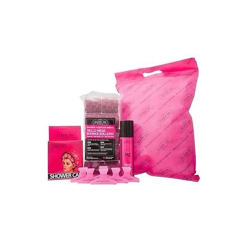 Sleep In Rollers - Girls Night In Gift Set - 250ml Body Soak + Sleep In Rollers