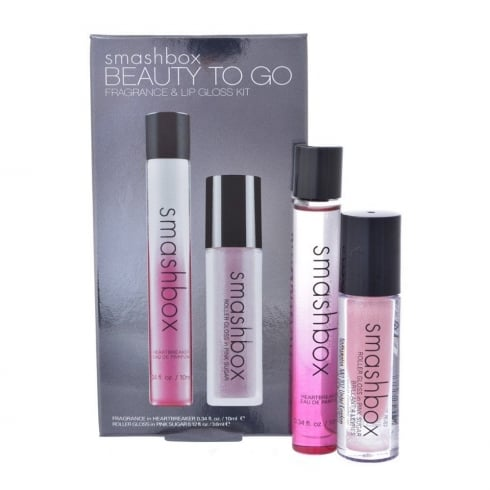 Smashbox Heartbreaker Gift Set - 10ml EDP Roller + 3.6ml Pink Lip Gloss