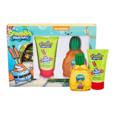 Spongebob Squarepants Mr Krabs Gift Set 50ml EDT + 75ml Shower Gel