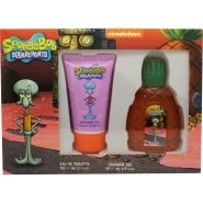 SpongeBob SquarePants Squidward Gift Set 50ml EDT + 75ml Shower Gel