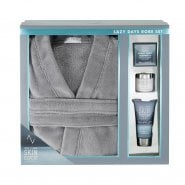 Style & Grace Style & Grace Skin Expert Lazy Days Gift Set 95ml Body Wash + 65ml Aftershave Balm + 50g Bath Soap + Bath Robe