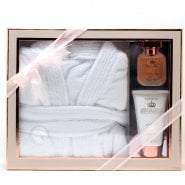 Style & Grace Style & Grace Utopia Extravagant Robe Set 50ml EDP + 150ml Body Lotion + Bath Robe (One Size)