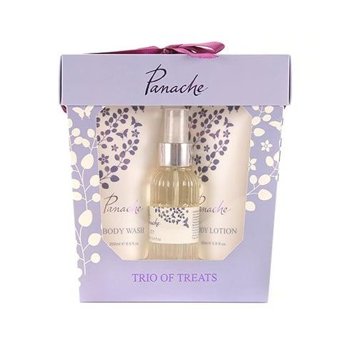 Taylor of London Yardley Panache Gift Set 100ml EDT + 200ml Body Wash + 200ml Body Lotion