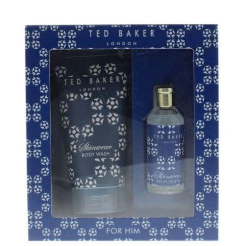 Ted Baker Skinwear For Him Gift Set 10ml EDT + 50ml Body Wash