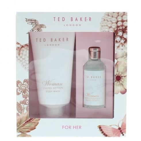 Ted Baker Skinwear Limited Edition For Him Gift Set 10ml EDT + 50ml Body Wash