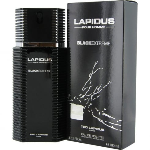 Ted Lapidus Black Extreme EDT 100ml Spray