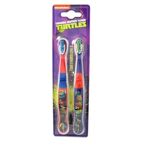 Teenage Mutant Ninja Turtles Twin Toothbrush
