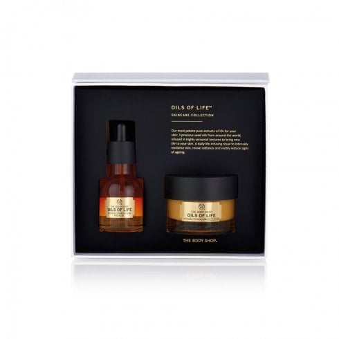 The Body Shop Oils Of Life Set Oil 30ml+Cream 50ml Skincare Collection