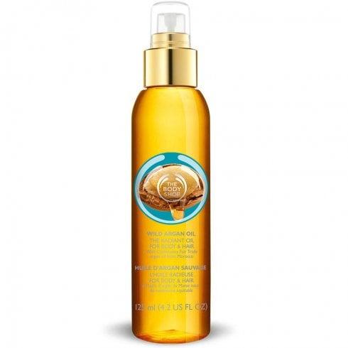 The Body Shop Wild Argan Oil For Body & Hair 125ml