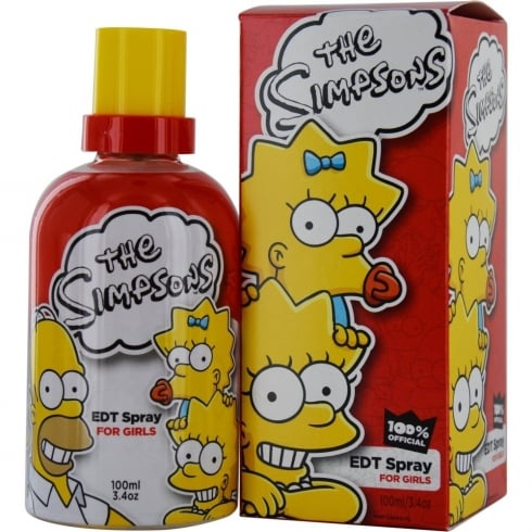 The Simpsons for Girls 100ml EDT Spray
