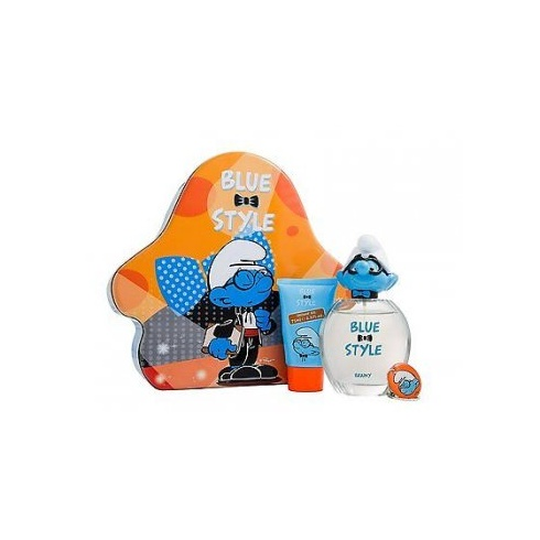 The Smurfs Brainy Gift Set 100ml EDT + 75ml Showergel + Keychain