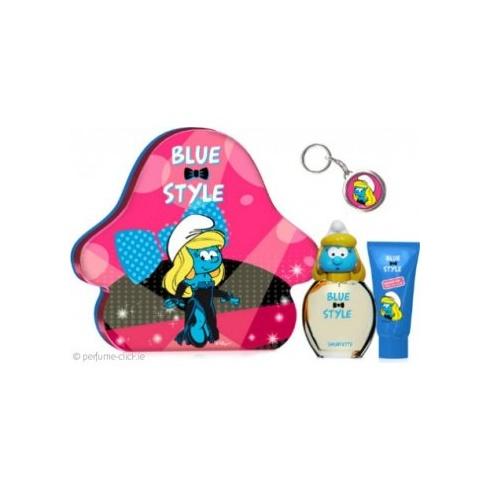 The Smurfs Smurfette Gift Set 100ml EDT + 75ml Showergel + Keychain