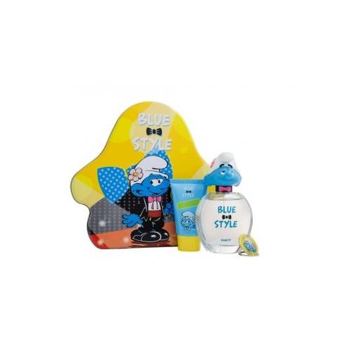 The Smurfs Vanity Gift Set 100ml EDT + 75ml Showergel + Keychain