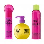 Tigi After Party Cream 100ml & Motormouth Volumizer 240ml & Head