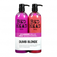 Tigi Bed Head Colour Combat Dumb Blonde Tween Shampoo & Conditioner Duo 2 x 750ml