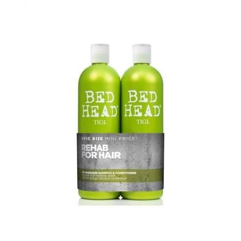 Tigi Bed Head Re-Energize Gift Set 750ml Shampoo + 750ml Conditioner