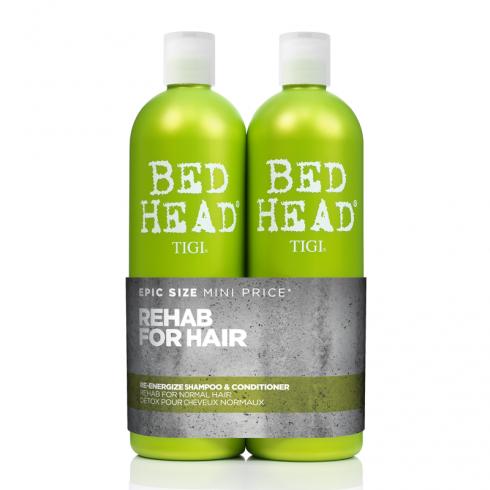 Tigi Bed Head Urban Antidotes Re-Energize Tween Shampoo & Conditioner Duo 2 x 750ml