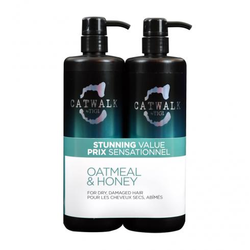Tigi Catwalk Oatmeal & Honey Tween Shampoo & Conditoner Duo 2 x 750ml