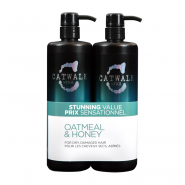 Tigi Catwalk Oatmeal & Honey Tween Shampoo & Conditoner Duo 2 x 750ml