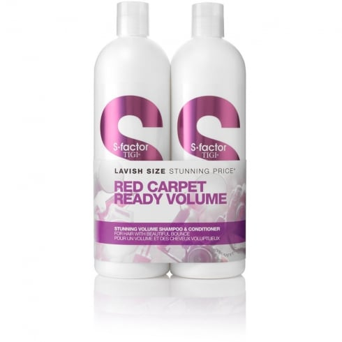 Tigi S-Factor Stunning Volume Tween - Shampoo 750ml + Conditioner 750ml