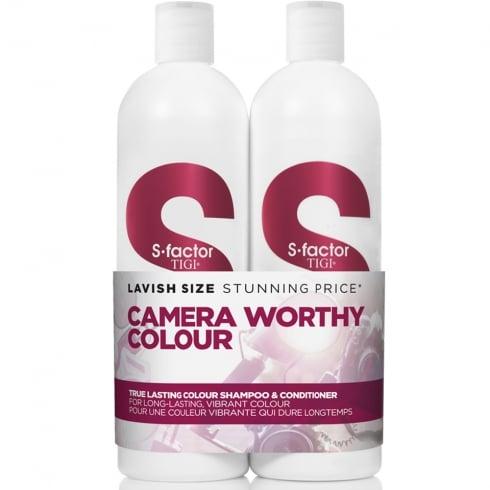 Tigi S-Factor True Lasting Colour Tween - Shampoo 750ml + Conditioner 750ml
