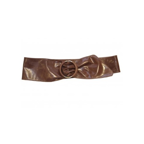 Total Accessories Soft Leather Belt - Tan