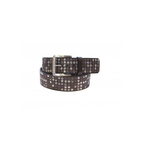 Total Accessories Studded Jeans Belt - Grey