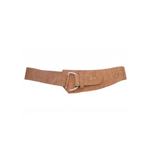 Total Accessories Tan Hook Buckle Belt - 6941
