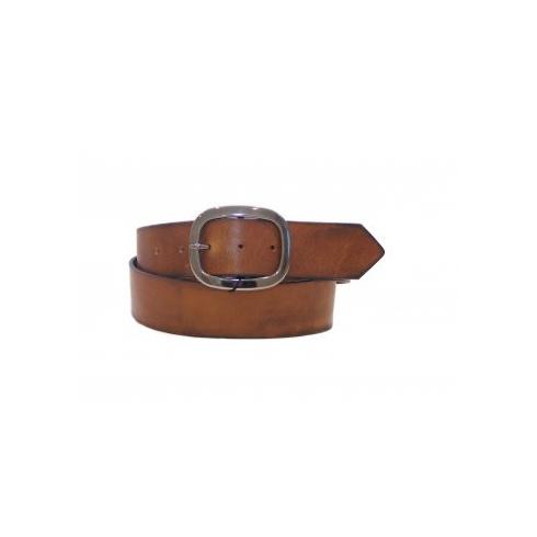 Total Accessories Vintage Leather Jeans Belt - Brown - 497